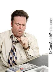 grippe, symptômes, au travail