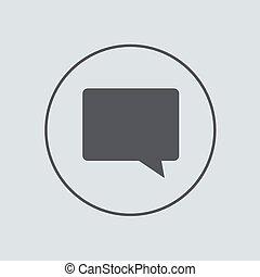 gris, 10, eps, arrière-plan., vecteur, cercle, icône