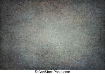 gris, algodón, plano de fondo, entregue pintado