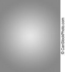 gris, circular, gradiente, plano de fondo