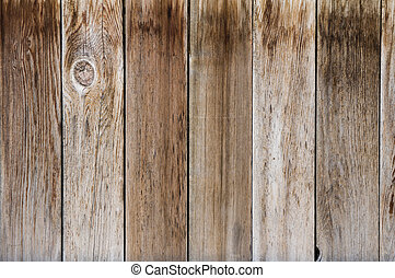 gris, fin, tablas, cerca, vetical, usado