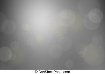 gris, flamme, résumé, effet, lentille, bokeh, fond, ou