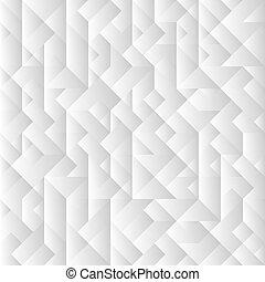 gris, fond, 3d, géométrique