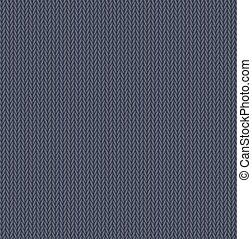 gris, géneros de punto, patrón, seamless, textura, plano de fondo, lana