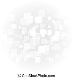 gris, gradient, résumé, global, illustration, formes, lumière, blanc, vecteur, chevauchement, fond, géométrique, doux, concept., perspective