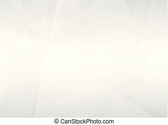 gris, gradient, résumé, light., illustration, formes, vecteur, chevauchement, fond, géométrique, doux, blanc, perspective