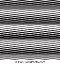 gris, grand, seamless, illustration, arrière-plan., vecteur, modèle, blanc, triangles