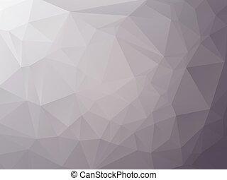 gris, graphite, triangulaire, fond