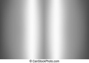 gris, lumière, résumé, milieu, fond, blanc, briller