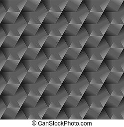 gris, métal, seamless, surface, modèle