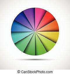 gris, paleta, color, ilustración, plano de fondo, vector,...