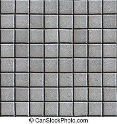 gris, pavimento, liso, square., concreto