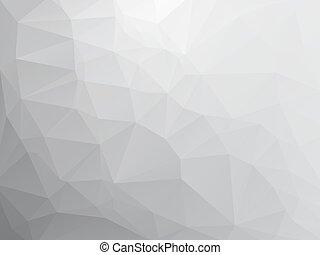 gris, pierre, triangulaire, fond