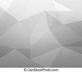 gris, polígono, textura