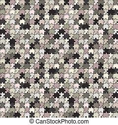 gris, puzzle, texture