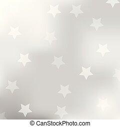gris, résumé, étoile, fond