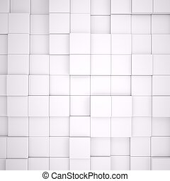 gris, résumé, cubes, fond