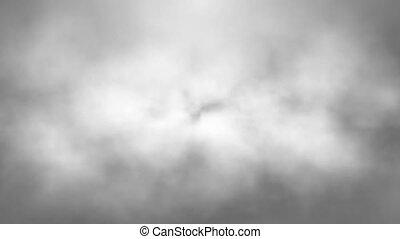 gris, résumé, nuages