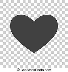 gris, signe., sombre, arrière-plan., cravate, transparent, icône