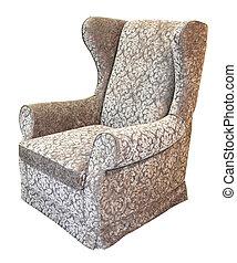 gris, sillón