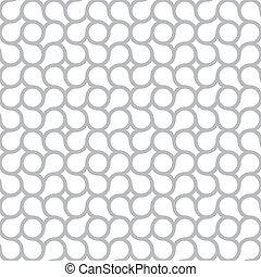 gris, simple, modèle, résumé, -, seamless, vecteur, fond