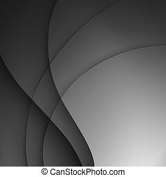 gris sombre, élégant, business, arrière-plan.