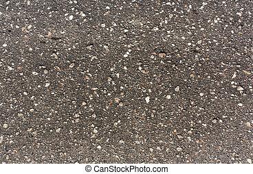 gris, surface., asphalte