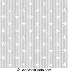 gris, tissu, fond, raies, étoiles, blanc