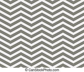 gris, tissu, zigzag, fond, textured, blanc