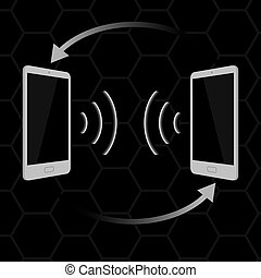 gris, touchscreen, smartphone