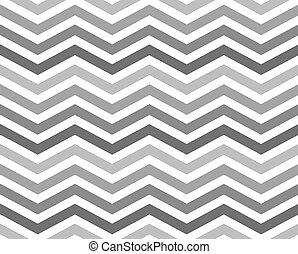 gris, zigzag, modèle fond