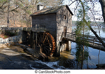 Grist Mill At stone Mountain Georgia.