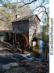 Grist Mill Stone Mountain Georgia - Grist MIll at Stone...