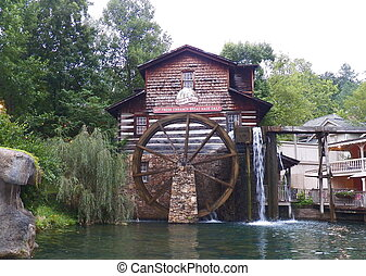 Grist Mill %u2013 Dollywood Pigeon Forge