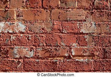 Gritty Brick Wall - An exceptionally gritty brick wall.