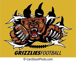 grizzlies football