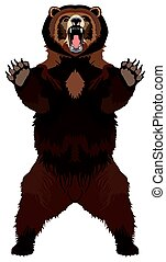 Grizzly Brown Bear Animal