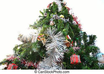 groß, baum, Weihnachten