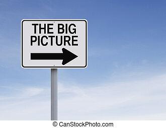 groß, bild