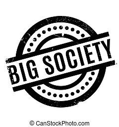 groß, gesellschaft, urkundenstempel