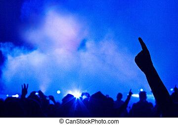 groß, live musik, concert