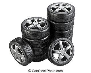 zeichnungen von r der stapel image freigestellt wheels hintergrund csp8356973. Black Bedroom Furniture Sets. Home Design Ideas