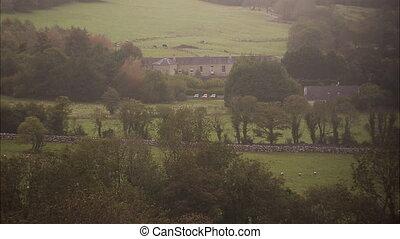 groß, villa, in, irland