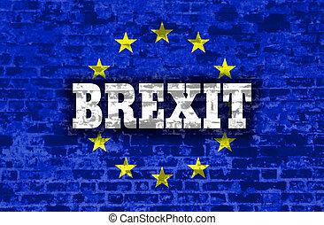 großbritannien, und, european union, relationships., brexit, metapher