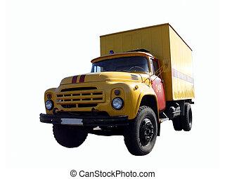 großer lastwagen