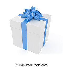 großes geschenk, kasten