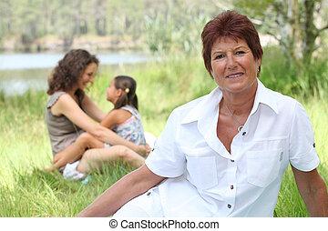 großmutter, porträt
