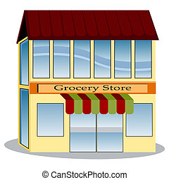 Grocery Store - An image of a grocery store.