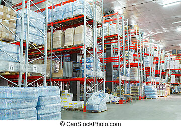 grocery store - The warehouse complex for the storage of...