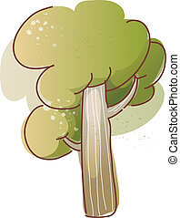 groeiende, boompje